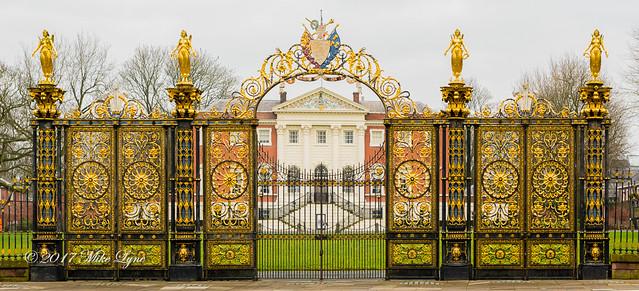 Warrington Town Hall Gates