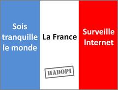 Drapeau Hadopi | by choisirtoujours