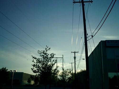 glare dusk wires