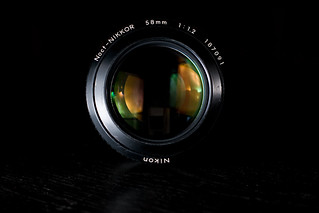 Nikkor Noct f/1.2 - all cleaned up! | by mitwalter