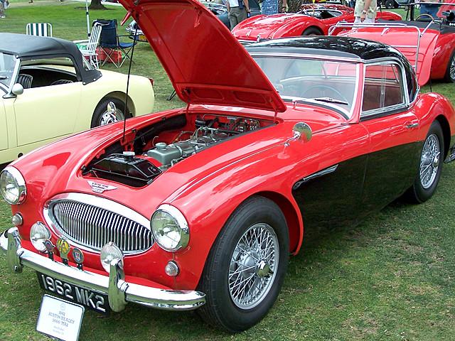 1962 Austn Healey 3000