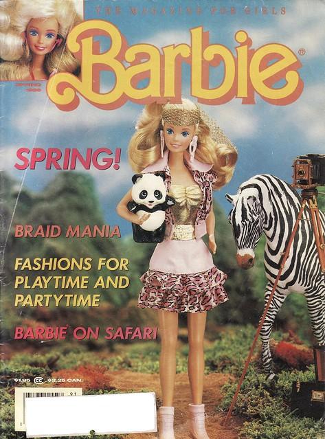 Barbie Magazine, 1989