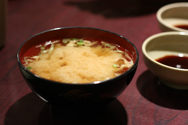 miso soup with egg