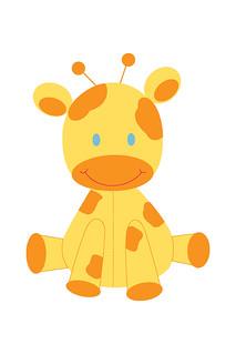 image regarding Giraffe Printable named Kid Giraffe - Printable Observe Playing cards, Reward Tags and Station