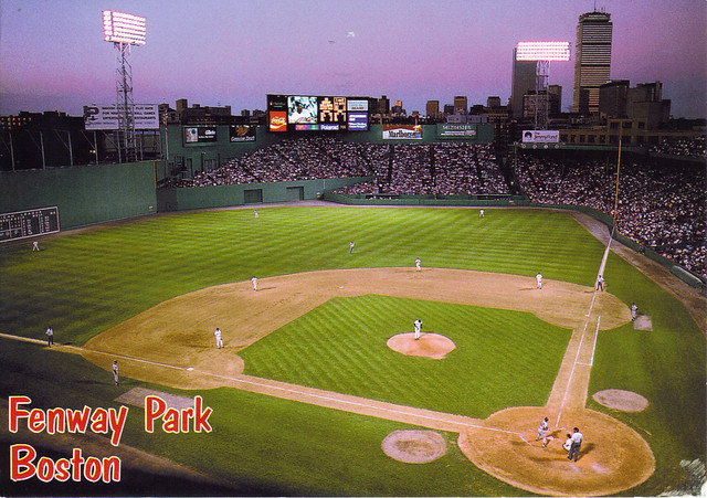 Fenway Park Boston Postcard