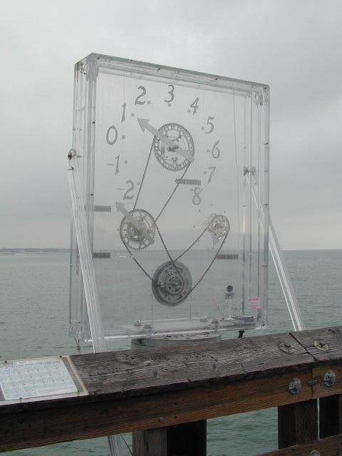 Ventura Pier Clock