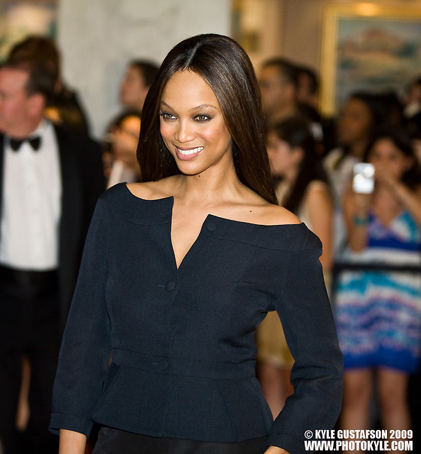 Tyra Banks Black And White: Tyra Banks At The 2009 White House