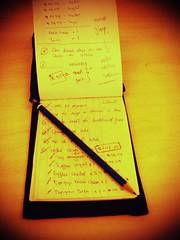 To-do list book.   by koalazymonkey
