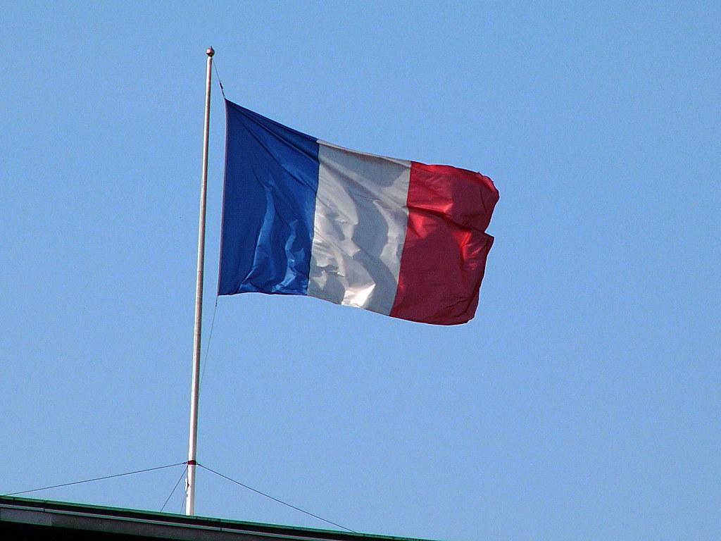 Drapeau Français Drapeau Français Tricolore Frédéric