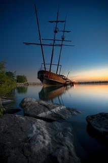 Blue Hour at Jordan Harbor (Explored)   This Flickr meet ...
