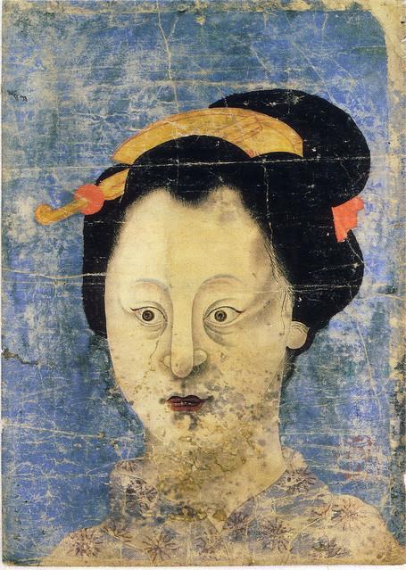 「婦人」(江戸時代・19世紀頃)