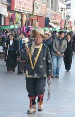 Praying in Tibetan Fashion