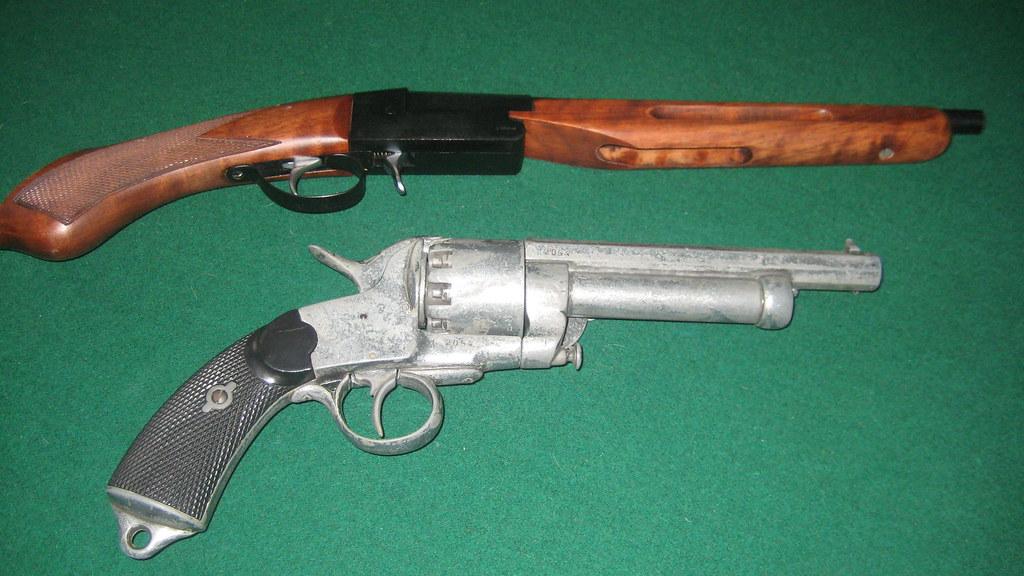 Yildiz  410 Shotgun (top) & Kirkov  44 Magnum (bottom) | Flickr