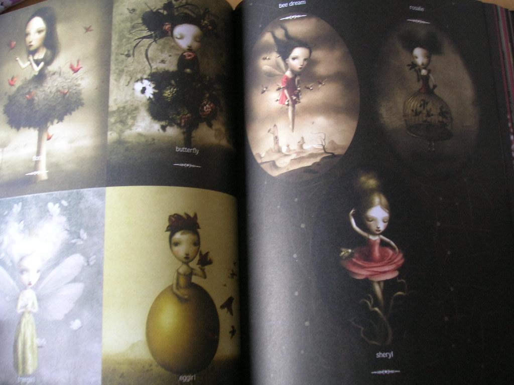 Garden Of Candy Nicoletta Ceccoli A Lovely Artbook Full O