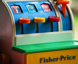 Vintage Fisher Price cash register toy | by perempuan