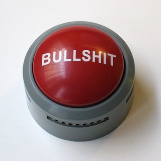 "The always handy big ""Bullshit Button"" | by nitot"