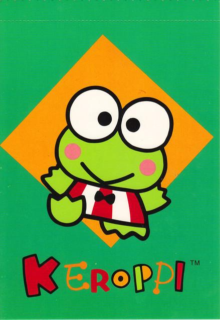 Keroppi Postcard