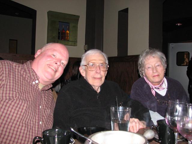 John, Dad and Mom