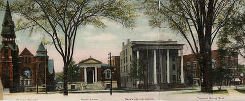 park county street ohio square high oh warren courthouse 1910s avenue trumbull