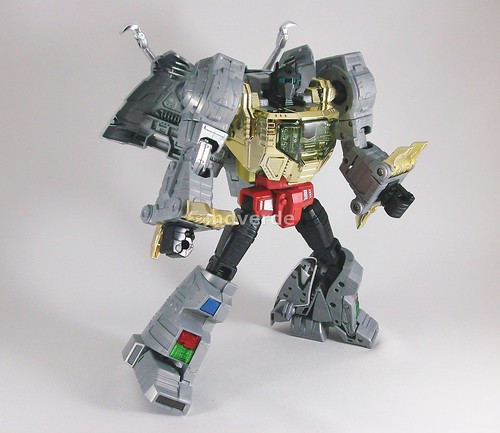Transformers Grimlock Masterpiece - modo robot   by mdverde