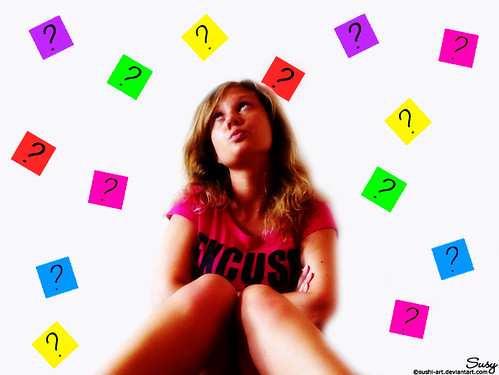 And the question is ... | by susy ♥