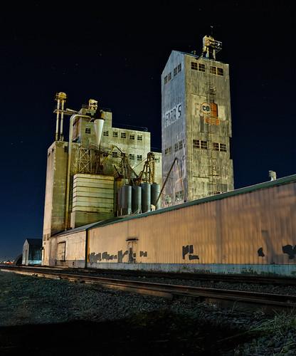 building tower history architecture night stars nikon colorado decay weld silo agriculture plains wd 2009 afterdark neco ault greeley d300 farr exposureblending clff agricultrure diamondclassphotographer sensationalphoto