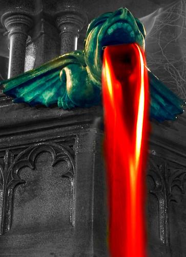 Fire Breathing Gargoyle