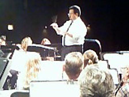 Adam's first AHCCB rehearsal as conductor