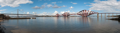 Forth Bridges Panorama | by DaGoaty