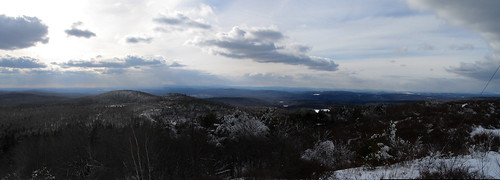 winter sky panorama cloud mountain snow tree ice grass forest view stitch wind hill newhampshire nh assist vista shrub pitcher stoddard
