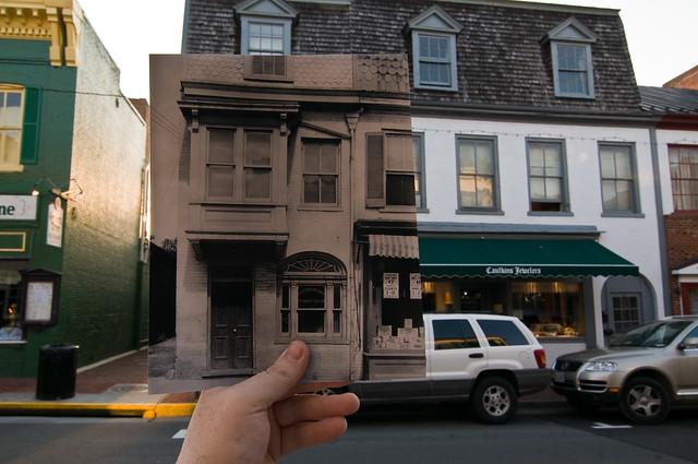 Looking Into the Past: 13 S. King Street, Leesburg, VA