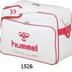 [hummel]エナメルショルダーバッグ(M) HFB3040-1526パールホワイト×ローズピンク