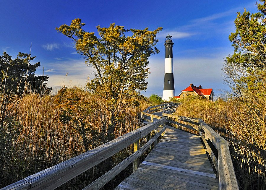 Fire Island Light / Another Perspective