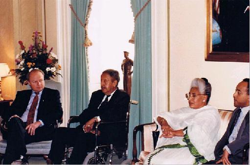 Ethiopian Imperial Family Visit Capitol Hill | Emperor in Ex