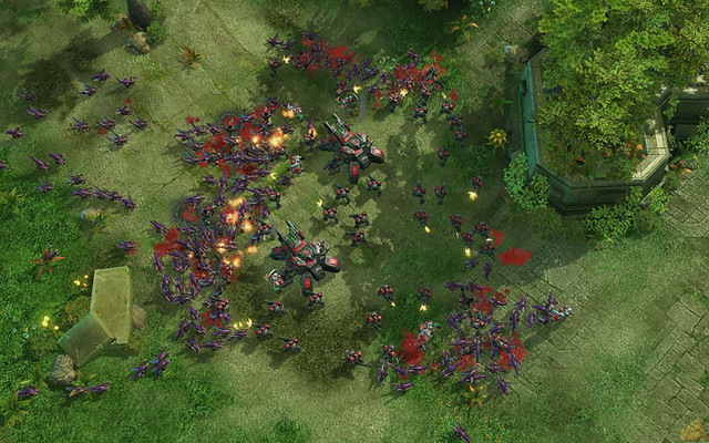 SC2 Zerg Gameplay | *No Hope Left* A squad of Marines and a