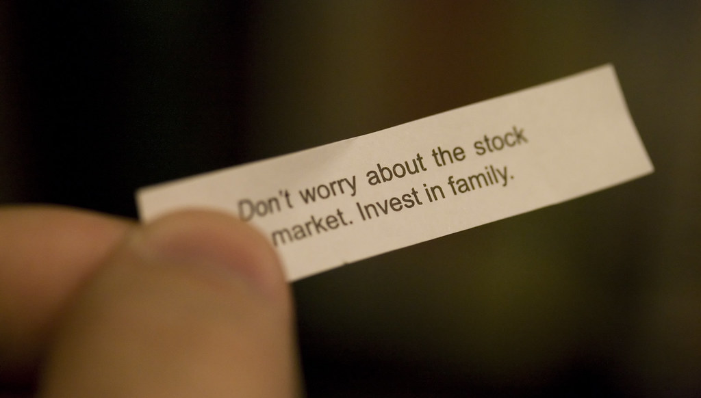 Stock Market Fortune Cookie