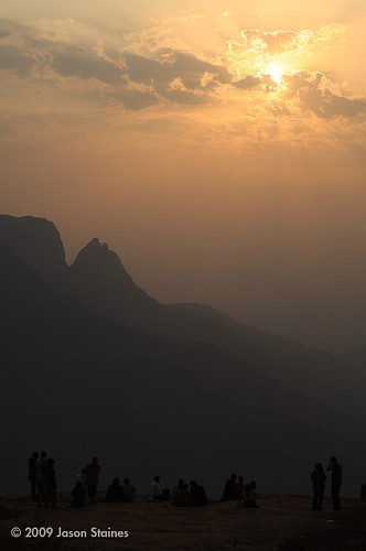 sunset india bombay matheran