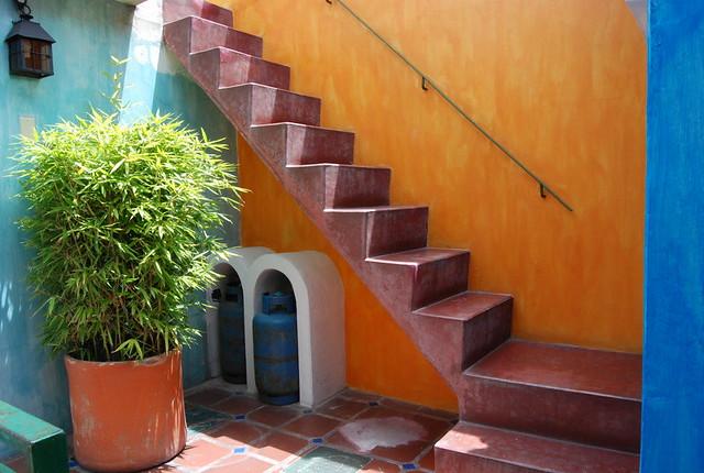 Gradas Terraza La Casa Sol Classic Inn Andean Lodge
