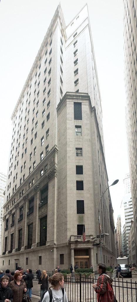 New York Stock Exchange Building 1922 11 Wall Street N Flickr