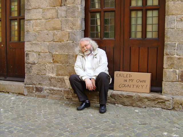 Exiled in  my  own country  (2010)  by Jan Theuninck