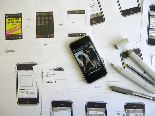 Designing the iPhone app, August 2008 | by Last.fm