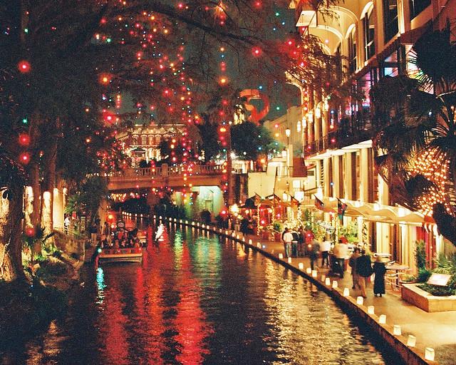 San Antonio Riverwalk Christmas.San Antonio Riverwalk John H Gamez Flickr