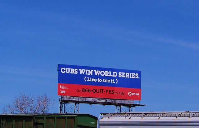 'Cubs Win World Series.'  Who Knew?