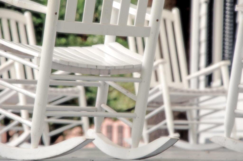 Terrific Rocking Chairs White Painted Wooden Texas Porch Dallas Her Unemploymentrelief Wooden Chair Designs For Living Room Unemploymentrelieforg
