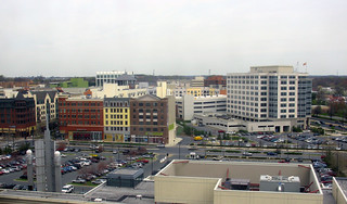 2009 04 13 - 4307 - Rockville - Rockville Town Center viewed from County Executive Bldg | by thisisbossi
