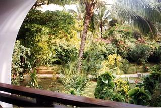 Jardin de l'hôtel Belle Mare