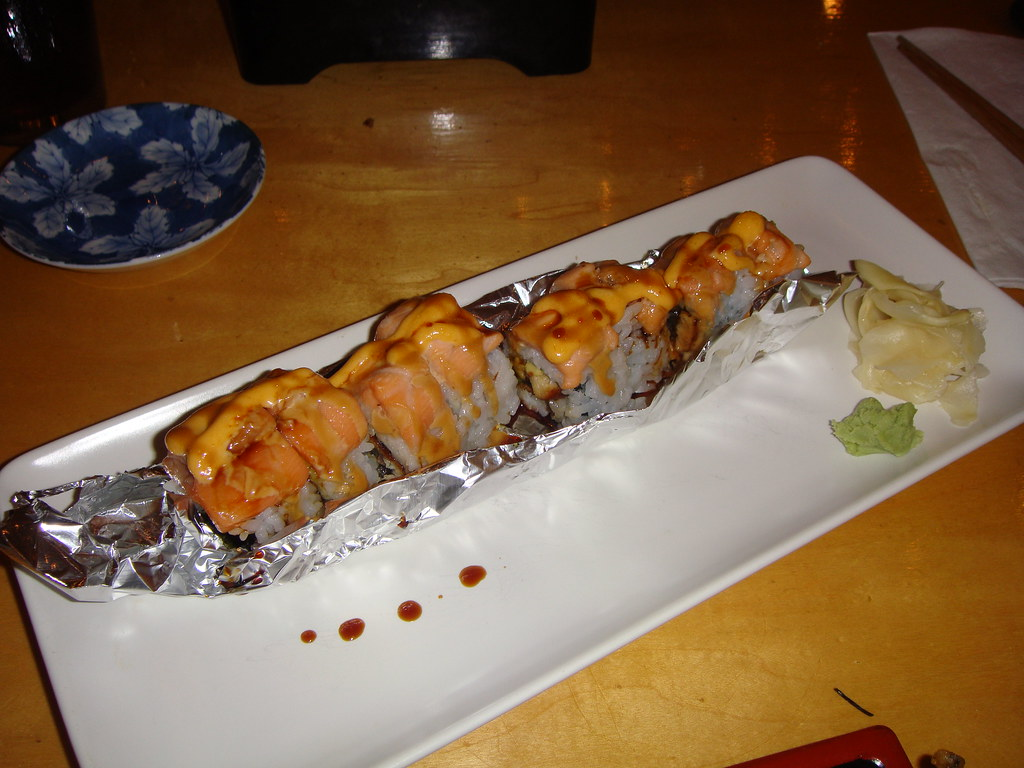 Grilled Salmon Roll Anna Haight Flickr