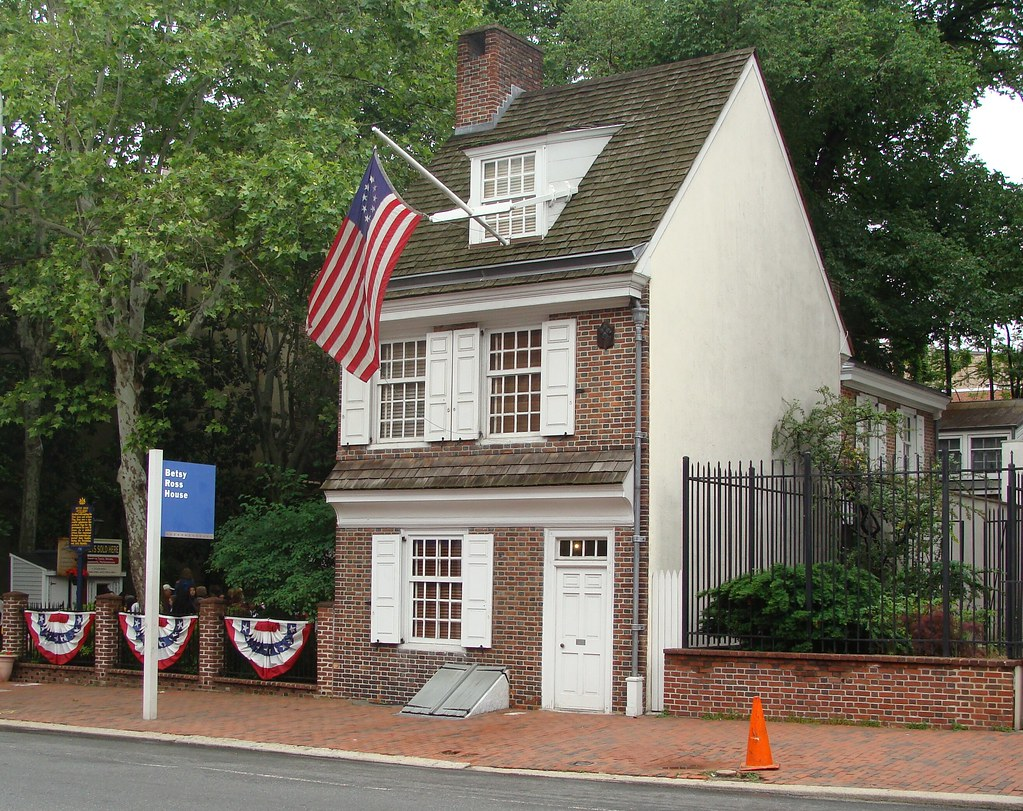 Betsy Ross House The Home Where Betsy Ross Lived In Philad Flickr