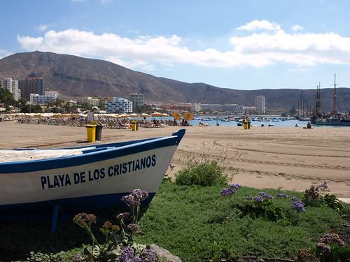 Playa Los Cristianos, Los Cristianos, Tenerife