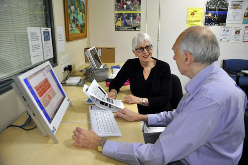 Broadband for Seniors kiosk | by Mosman Council